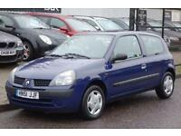 2001 51 RENAULT CLIO 1.1 AUTHENTIQUE 8V 3D 58 BHP