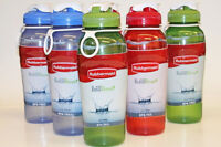 NEW 6 Rubbermaid 32oz Chug Refill & Reuse Water Bottles BPA FREE