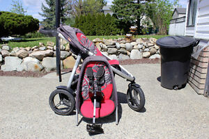 Elite Phil & Ted single wide Double stroller