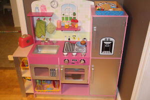 Wooden Play Kitchen (Gently Used)