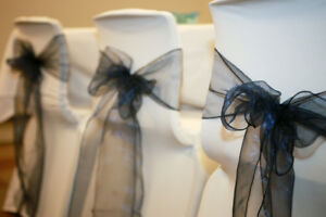 Blue Silver White Wedding Decor