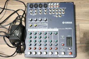 Yamaha MG-102C 10 Channel Mixing Console