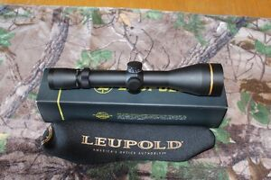 Leupold VX3I 4.5-14x50 30mm side focus with cds