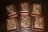 Tiny Individual Copper Molds