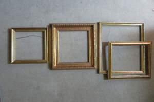 Four beautifully crafted frames.