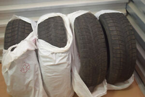 4 Bridgestone Winter Tires 225 60 17