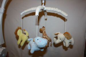 Beautiful Musical Crib Mobile - Excellent Condition