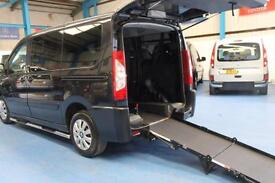 Peugeot Expert 4 Seats Plus the Wheelchair space mobility disabled vehicle Wav