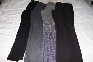 4 pairs of maternity pants