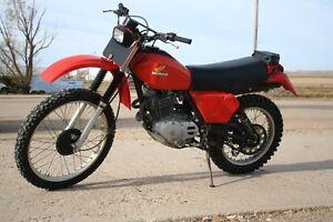 1980 Honda 500 XR Enduro