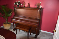 Chute Butler Upright Piano