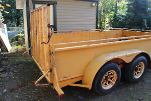 Heavy Duty Work Trailer
