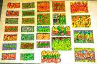 ~>Custom Graffiti Stickers and Drawings <~