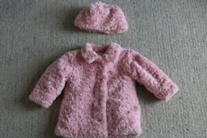 Sweet matching coat and hat FALL WINTER