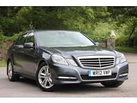 2012 MERCEDES E-CLASS E220 CDI BLUEEFFICIENCY S/S AVANTGARDE SALOON DIESEL