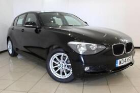2014 14 BMW 1 SERIES 1.6 116D EFFICIENTDYNAMICS BUSINESS 5DR 114 BHP DIESEL
