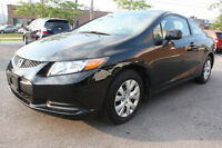 2012 Honda Civic LX *BLUETOOTH* Coupe (2 door)