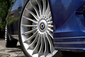 "X4 NEW RARE 19"" BMW ALPINA STYLE ALLOY WHEELS 5X120 STAGGERED E60 5"