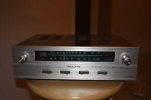 """Vintage """"Sound"""" STQ-202X AM FM Stereo Tuner"""