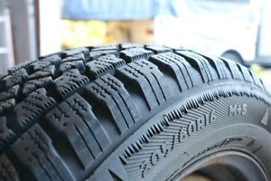 4x205/60 R16 Winter tires M+S for sale