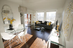 Downtown - Yaletown 1bd/1bth w/ Den, In-Suite Laundry, Parking!