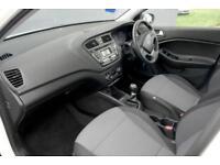 2017 Hyundai i20 1.2 SE (84 PS) Petrol white Manual