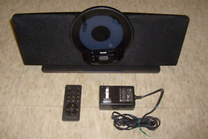 Coby Vitruvian Aux/Ipod Amplified Speaker w Remote for IPod, MP3