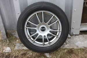 235/55R17 TIRES AND EURO YKW RIMS set of 4