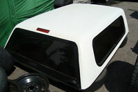 2011 CHEVY 6.5 FT WHITE TOPPER ONLY $945.