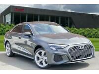 2021 Audi A3 Saloon S line 30 TDI 116 PS 6-speed Saloon Diesel Manual