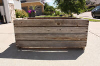 Wooden Crates/Planters