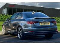 2018 Audi A4 Black Edition 1.4 TFSI 150 PS 6-speed Saloon Petrol Manual