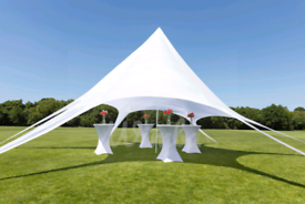 20% SALE - NEW Star Canopy 12/14m Gazebo Marquee - from £170 each