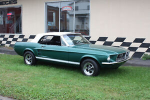 Mustang GT convertible 1967   -390 4 vitesses-