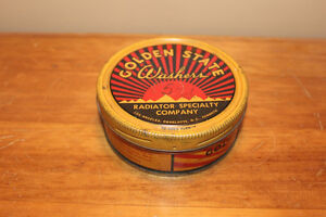 Vintage Golden State Washers Tin - Great Colours!
