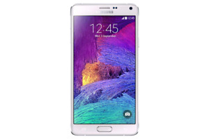 Galaxy Note 4 32GB White factory unlocked works perfecrly in e