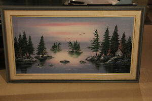 """Landscape painting (56"""" x 32"""") - Make me an offer"""