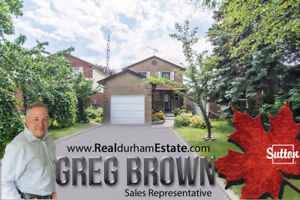 4 bedroom House with 3 Bathroom walk out basement Ajax