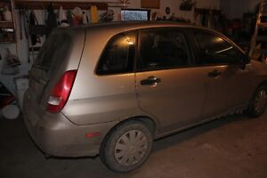 2003 Suzuki Aerio hatch Hatchback *FOR PARTS*