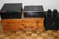 Sony 200 cd player and stereo