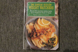 LES MENUS MINUTE WEIGHT WATCHERS