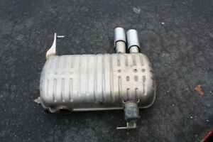 Muffler, BMW 3 series, 5th gen (2004-2013), used 3yrs