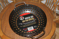 BBQ WOK for Grilled Veggies