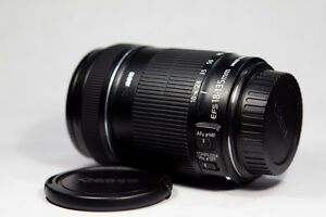 like new canon EF S 18 135 IS zoom lens
