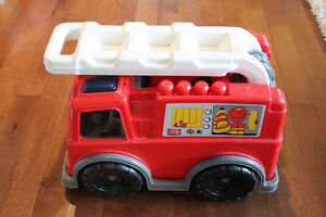 MEGA BLOCK fire truck, great deal considering the size