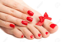 At Home Spa Pedicures and Spa Manicures