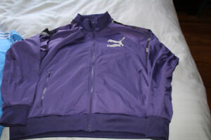 purple Puma XL Track Jacket in excellent condition extra large
