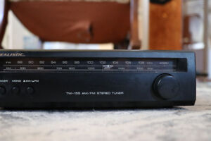 Vintage Tuner and CD Recorder