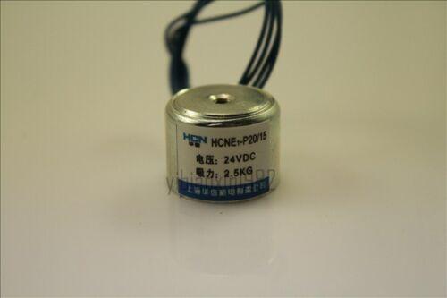 New 20mm 24V Holding Electromagnet Lift 2.5kg Solenoid