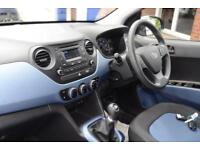 2016 Hyundai i10 1.0 SE Petrol blue Manual